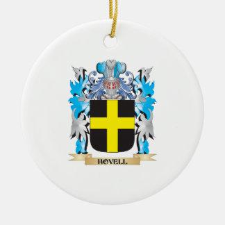 Escudo de armas de Hovell - escudo de la familia Adorno Redondo De Cerámica