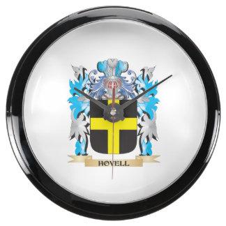 Escudo de armas de Hovell - escudo de la familia Reloj Acuario