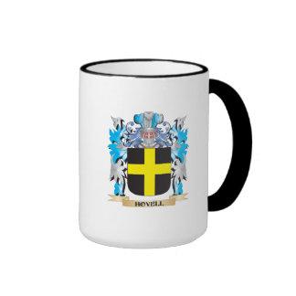 Escudo de armas de Hovell - escudo de la familia Taza A Dos Colores