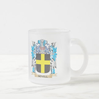 Escudo de armas de Hovell - escudo de la familia Taza Cristal Mate