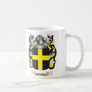 Escudo de armas de Hovell (escudo de la familia) Taza Básica Blanca