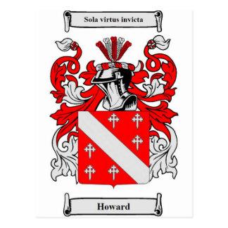 Escudo de armas de Howard Postal