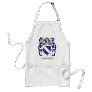 Escudo de armas de Hoyos (escudo de la familia) Delantal