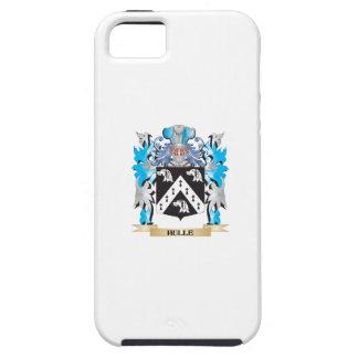 Escudo de armas de Hulle - escudo de la familia iPhone 5 Case-Mate Fundas