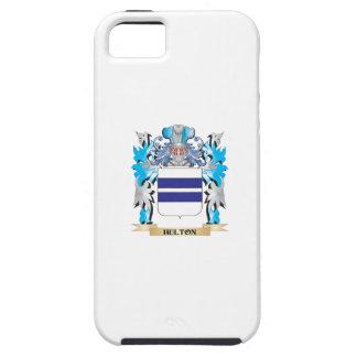 Escudo de armas de Hulton - escudo de la familia iPhone 5 Case-Mate Cobertura