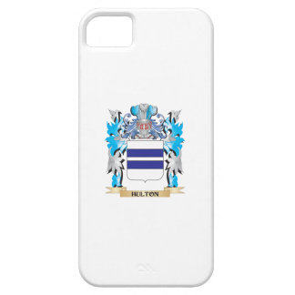 Escudo de armas de Hulton - escudo de la familia iPhone 5 Case-Mate Coberturas