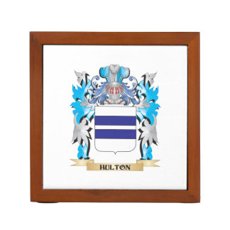 Escudo de armas de Hulton - escudo de la familia