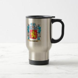 Escudo de armas de Humphreys - escudo de la Tazas De Café