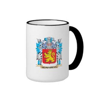 Escudo de armas de Humphreys - escudo de la Tazas