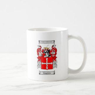 Escudo de armas de Humphreys Taza De Café