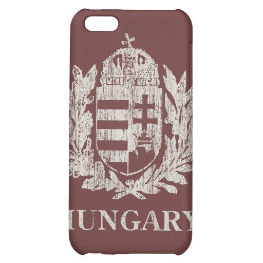 Escudo de armas de Hungría del vintage