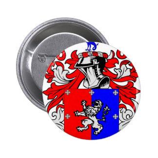 Escudo de armas de Hutchinson Pin