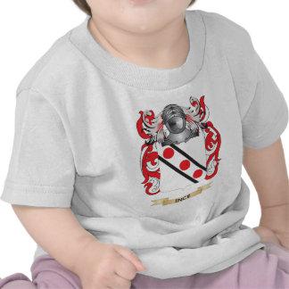 Escudo de armas de Ince (escudo de la familia) Camisetas