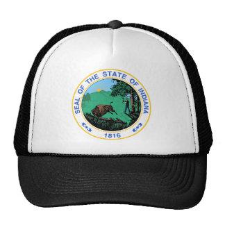 Escudo de armas de Indiana Gorros