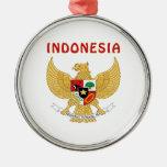 Escudo de armas de INDONESIA Adornos De Navidad