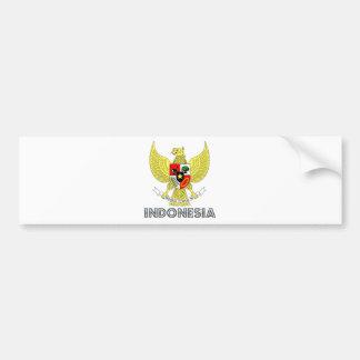 Escudo de armas de Indonesia Pegatina De Parachoque