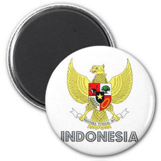 Escudo de armas de Indonesia Imán Para Frigorifico