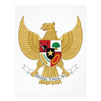 Escudo de armas de Indonesia Membrete Personalizado