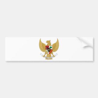 Escudo de armas de Indonesia Pegatina Para Auto