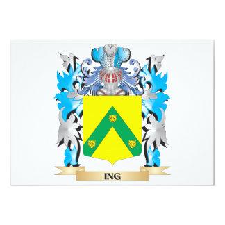 Escudo de armas de Ing - escudo de la familia Comunicados Personales