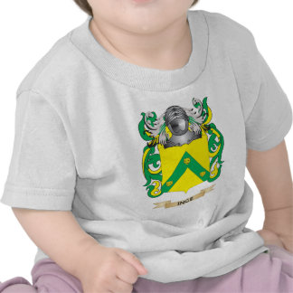 Escudo de armas de Inge (escudo de la familia) Camisetas
