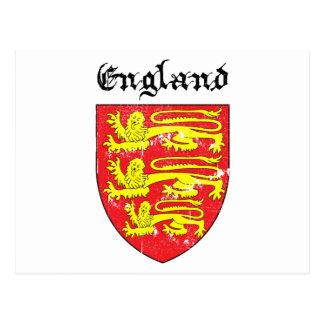 Escudo de armas de Inglaterra Postales