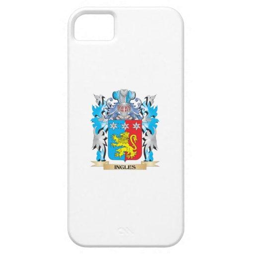 Escudo de armas de Ingles - escudo de la familia iPhone 5 Protectores