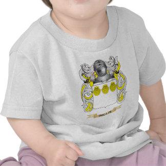 Escudo de armas de Inglis (escudo de la familia) Camisetas