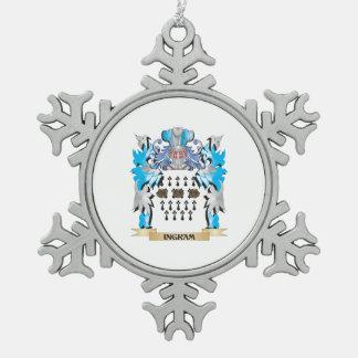 Escudo de armas de Ingram - escudo de la familia Adornos