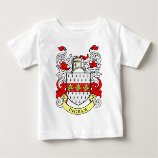 Escudo de armas de INGRAM T-shirts
