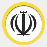 Escudo de armas de Irán Pegatina