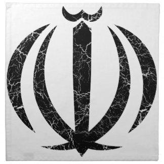 Escudo de armas de Irán Servilleta