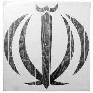 Escudo de armas de Irán Servilletas De Papel