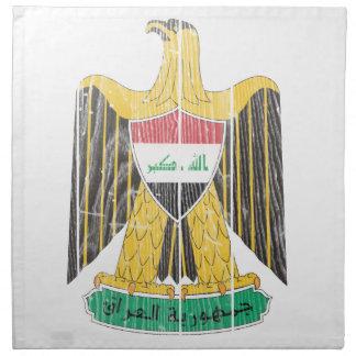 Escudo de armas de Iraq Servilleta