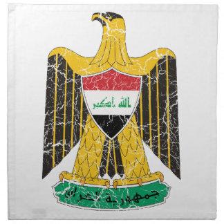 Escudo de armas de Iraq Servilleta De Papel