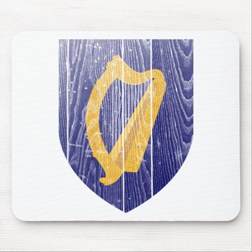 Escudo de armas de Irlanda Alfombrillas De Ratones