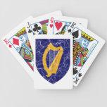 Escudo de armas de Irlanda Baraja