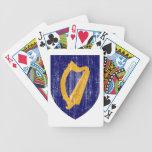 Escudo de armas de Irlanda Baraja De Cartas