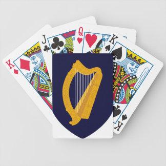 Escudo de armas de Irlanda Barajas De Cartas