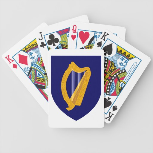 Escudo de armas de Irlanda Cartas De Juego