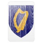 Escudo de armas de Irlanda Imán De Vinilo