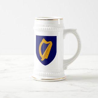 Escudo de armas de Irlanda Jarra De Cerveza