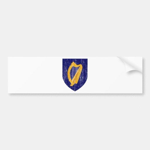 Escudo de armas de Irlanda Pegatina Para Auto