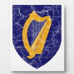 Escudo de armas de Irlanda Placa