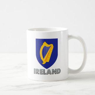 Escudo de armas de Irlanda Taza