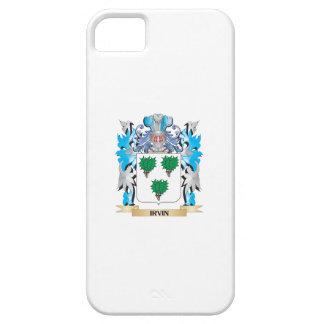 Escudo de armas de Irvin - escudo de la familia iPhone 5 Case-Mate Carcasa