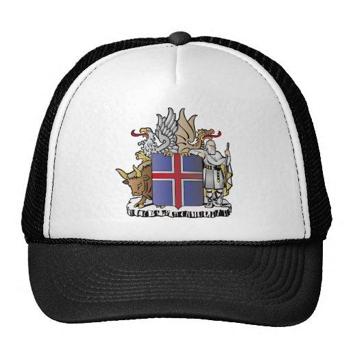 Escudo de armas de Islandia Gorra