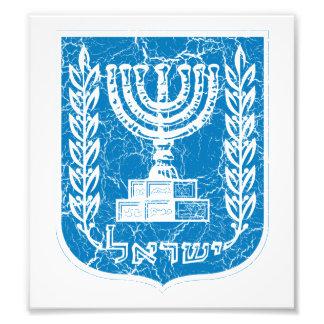 Escudo de armas de Israel Fotos