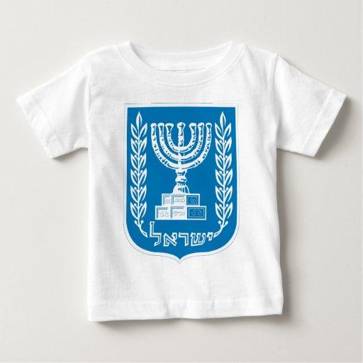 Escudo de armas de Israel T-shirts