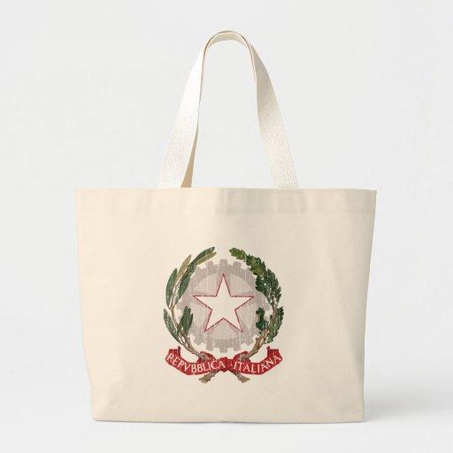 Escudo de armas de Italia Bolsa